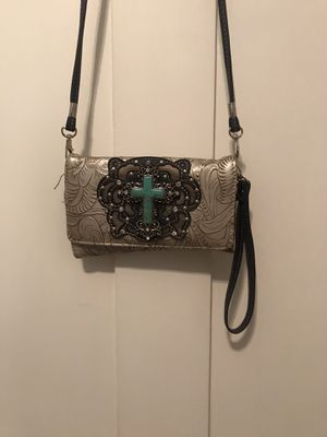 Western turquoise clutch wallet/purse for Sale in Merced, CA