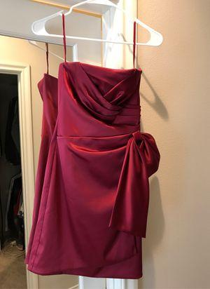 White House Black Market 00 Red Cocktail Dress for Sale in Rancho Santa Margarita, CA