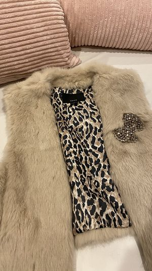 Fur vest for Sale in San Jose, CA