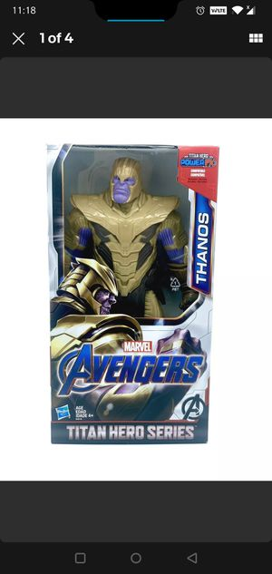 "Hasbro Marvel Avengers Thanos Titan Hero Series 12"" Collectible Action Figure! for Sale in Lawrenceville, GA"