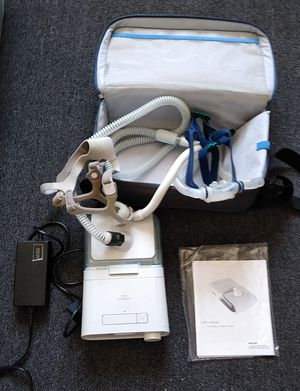 Philips Respironics Dreamstation CPAP, Manual, Hoses, Power Source, Humidifier, Water Tank And Two Masks Very Good Condition for Sale in Carl Junction, MO
