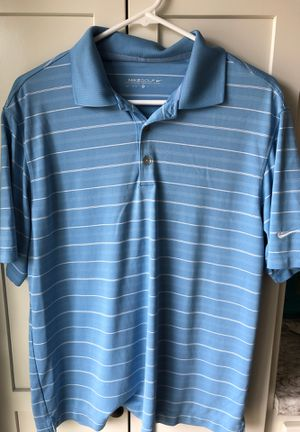 Nike men's medium golf polo for Sale in Bloomington, IL