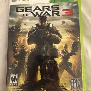 Gears Of War 3 Xbox 360 for Sale in Pompano Beach, FL