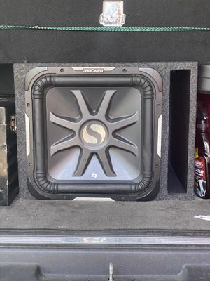 """Kicker Solo-Baric L7 Series 15"""" subwoofer for Sale in Jersey City, NJ"""