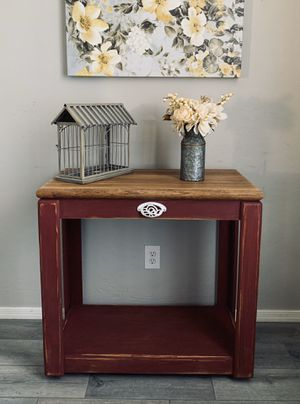 Farmhouse kitchen island cart - entry table for Sale in Peoria, AZ