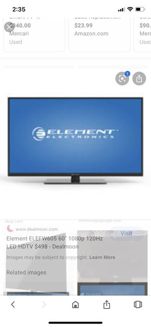 Element 60 inch tv for Sale in Lake Forest Park, WA