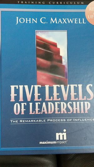 John Maxwell Five Levels Of Leadership for Sale in Mililani, HI
