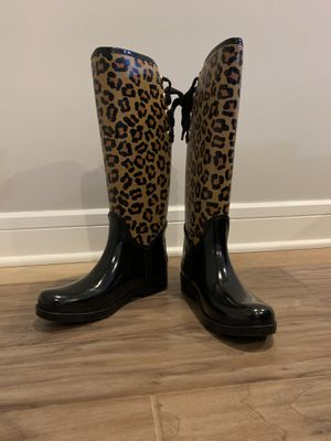 Coach rain boots for Sale in Evesham Township, NJ
