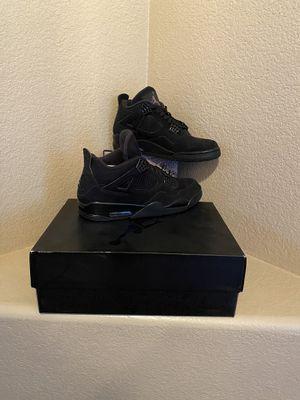 Jordan 4 Retro Black Cat (2020) for Sale in Manteca, CA