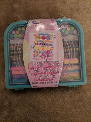 Bracelet making kit with beads for Sale in West Springfield, VA