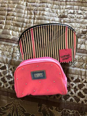 2 Victoria secret make up bags new for Sale in Revere, MA