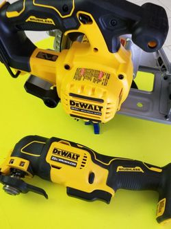 """DEWALT Saw New And DEWALT Multi tool $160 For Both Brushless Sircular SAW Brushless Multi tool """""""" Tool Only No Battery No CHARGER INCLUDED for Sale in Las Vegas,  NV"""