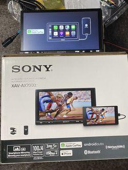 "SONY -XAVAX7000/ 7 "" - Android Auto/Apple® CarPlay™ - Built-in Bluetooth - In-Dash Digital Media Receiver for Sale in Dallas,  TX"