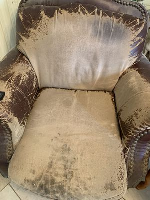 Leather couch set $80 for all for Sale in Fort McDowell, AZ