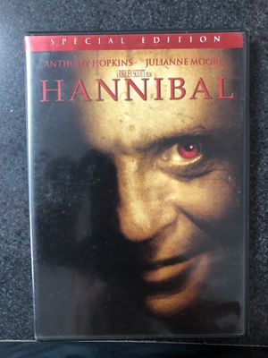 Hannibal Special Edition DVD - Anthony Hopkins for Sale in Griswold, CT