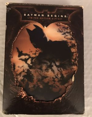 The Batman Begins Limited Edition DVD Gift Set for Sale in Philadelphia, PA