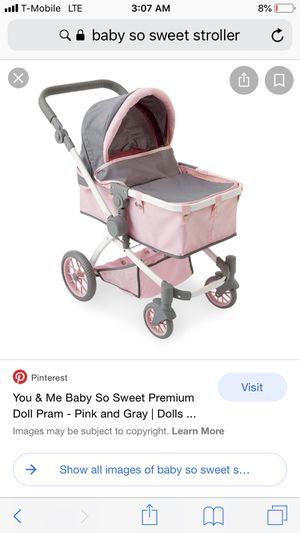 Baby so sweet doll stroller for Sale in Long Beach, CA
