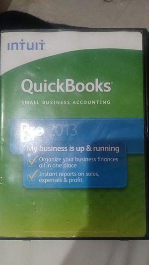 Intuit QuickBooks Pro 2013 for Sale in Houston, TX