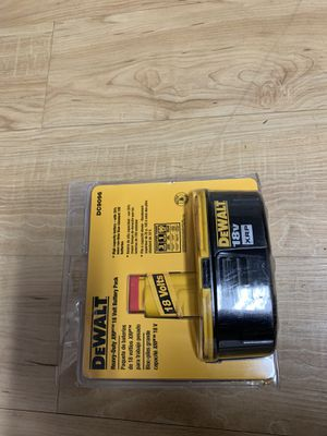 Dewalt 18 V rechargeable battery for Sale in Chiefland, FL