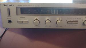 Technics stereo receiver sa-103 for Sale in Pasadena, CA