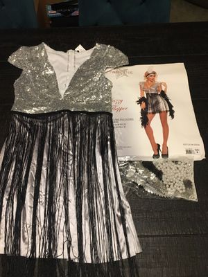 Silver Flapper Costume for Sale in Clackamas, OR