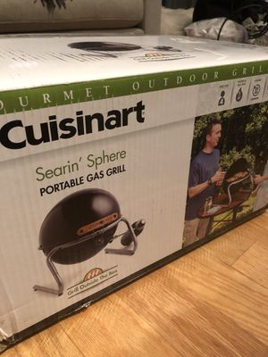 NEW Cuisinart® Searin' Sphere Portable Gas Grill in Black for Sale in Chicago, IL