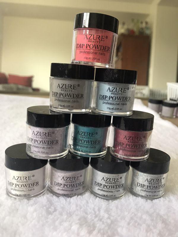 Nail supplies 10 pcs dip / acrylic powder