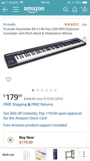 Midi keyboard for Sale in Germantown, MD