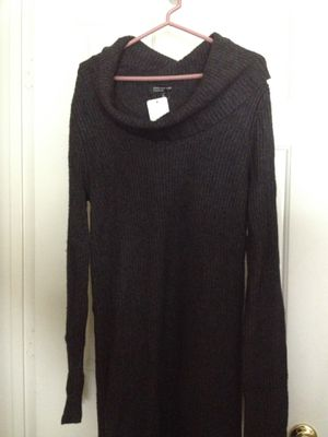 Wide neck sweater dress, NEW for Sale in Fairfax Station, VA