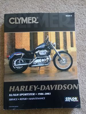 Harley Davidson repair manual for Sale in North Ridgeville, OH