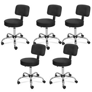 5X Hydraulic Saddle Salon Stool Massage Chair Tattoo Facial Spa Office Backrest for Sale in Wildomar, CA