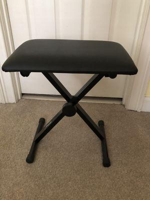 Mugig Piano Keyboard Bench, 3 Height Adjustable Keyboard Seat for Sale in Atlanta, GA