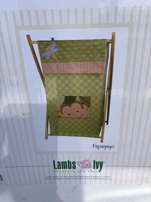 Clothes Hamper (lambs and Ivy) - baby kids Childern nursery Brand New for Sale in Diamond Bar, CA