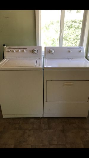 Kenmore washer&gas dryer in great condition for Sale in Azusa, CA