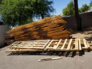 Free Pallets 16 foot long 28 of them for Sale in Glendale, AZ