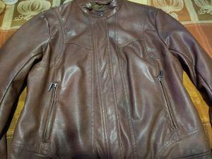 Ladies medium Bernardo Leather jacket worn twice. for Sale in Scottsdale, AZ