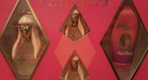Nicki Minaj Pink Friday 4 piece perfume lotion set for Sale in Clovis, CA