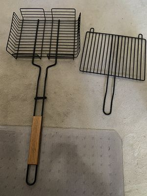 Grilling basket for grill, outdoor camping for Sale in Issaquah, WA