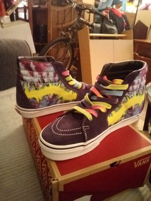 New in the box Vans size 9 (tie dye) mysterioso/ true for Sale in Rochester, NY