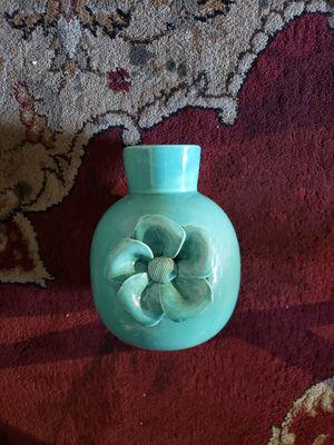Aqua Flower Vase Super Clean Make Offer for Sale in Orange, CA