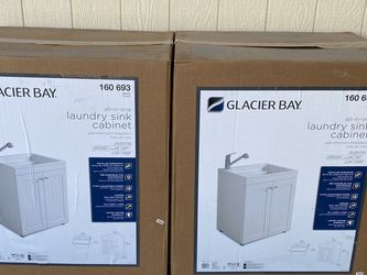 All-in-one Laundry Sink Cabinet (Glacier Bay ) for Sale in Anaheim,  CA