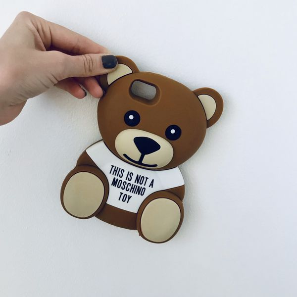 IPhone 7/8 Mo*chino Teddy Bear Case