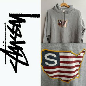 Super Rare Vintage 90s OG Old School! Stussy Sport USA Hoodie L Oversized, Archive Fashion for Sale in Seattle, WA
