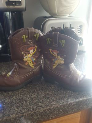 Toy Story Cowboy Boots for Sale in Glen Burnie, MD