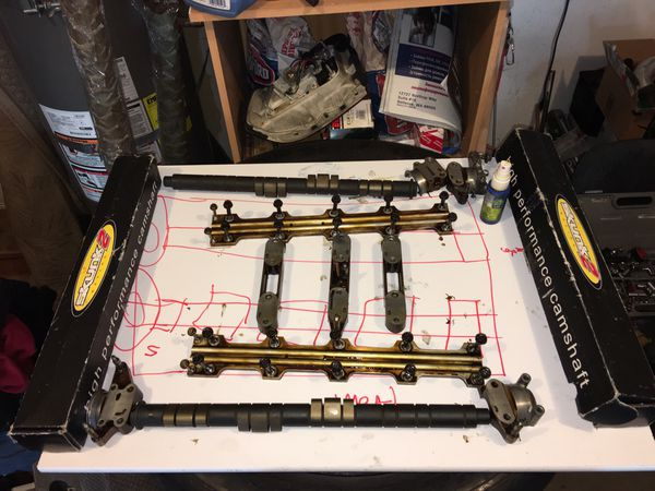 Honda Prelude JDM H22A 92-95 OEM Cam Shafts With Cam Gears! Also in New Condition JDM H22A Crank Shaft!