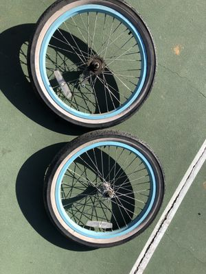 Two wheel frame and tires 20x2.125 for Sale in Huntington Beach, CA