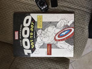 Marvel dot-to-dot book for Sale in Placentia, CA