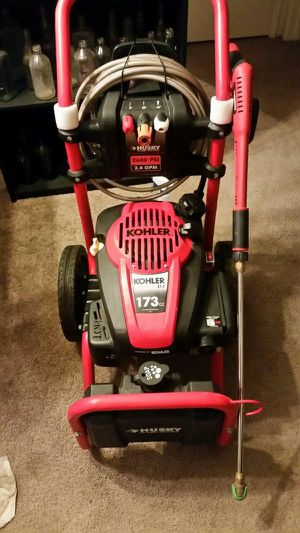 Pressure washer and snow blower both for Sale in Eagle Mountain, UT