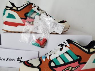 Adidas Krusty Burger ZX 1000 (UNISEX) 8mens -9.5wmns for Sale in Germantown,  MD