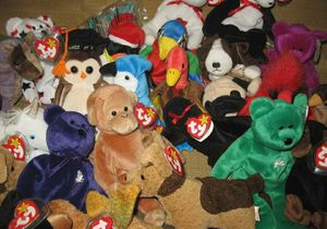 300 Beanie babies including most if not all of the top 10 must haves for Sale in Parma, OH